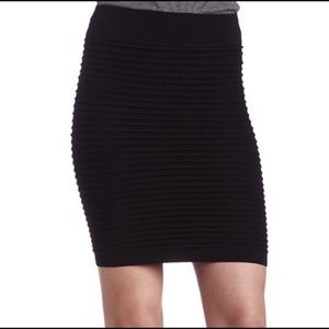 BCBGeneration body con ribbed skirt